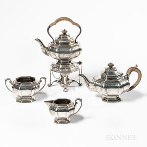 George V Sterling Silver Tea Service