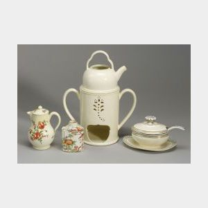 Four Wedgwood Queen's Ware Items