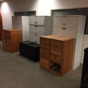 Nine Modern Filing Cabinets