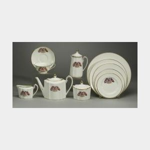 Extensive Wedgwood Bone China Liberty Ware Tea and Dinner Service
