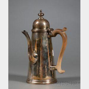 George I Silver Coffeepot