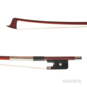 Silver-mounted Viola Bow, Kunitaka Ose