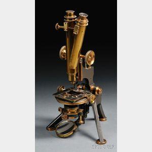 W. Watson & Sons Binocular Microscope