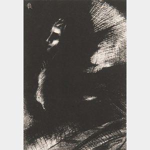 Odilon Redon (French, 1840-1916)      Frontispice