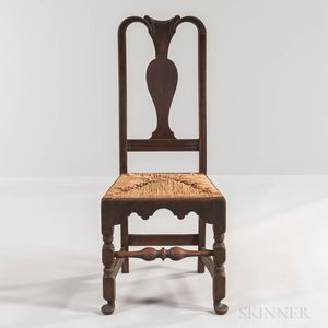 Queen Anne Rush-seat Side Chair