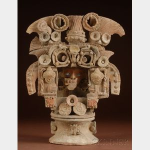 Pre-Columbian Pottery Incensario