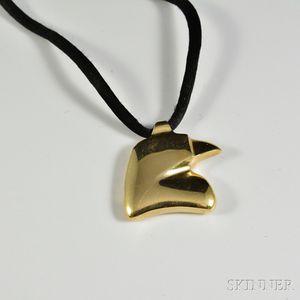 Kieselstein-Cord 14kt Gold Pendant