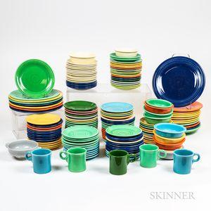 Large Group of Fiestaware