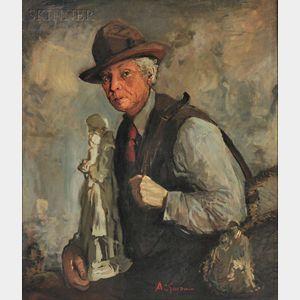 Arthur Clifton Goodwin (American, 1866-1929)      Statue Vendor