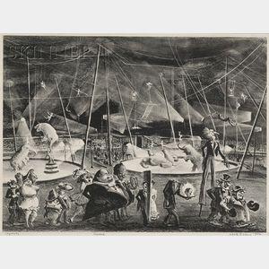 Adolf Arthur Dehn (American, 1895-1968)      Circus