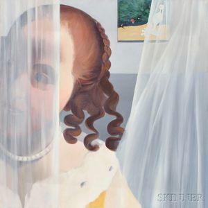 Terri Priest (American, 1928-2014)      Vermeer & Miro