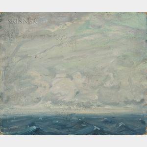 Arthur Clifton Goodwin (American, 1866-1929)      Seascape