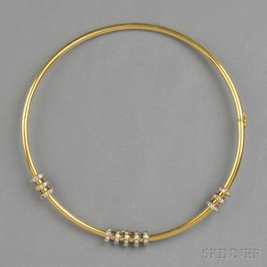 18kt Gold and Diamond Collar, Cartier