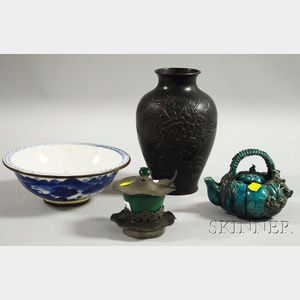 Four Asian Decorative Items