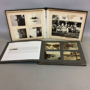 Group of Late 19th/Early 20th Century Travel Photographs in Two Albums.
