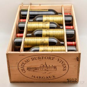 Chateau Durfort Vivens 1982, 12 bottles (owc)