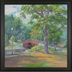 Michael Graves (Massachusetts, b. 1952), Kraft Footbridge at Elm Park