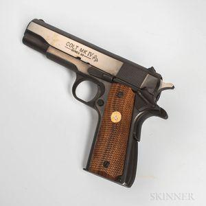 Colt Mark IV Series 80 Model 1911A1 Semiautomatic Pistol