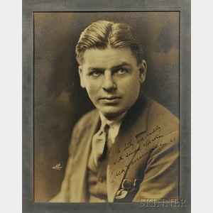 Hammerstein, Oscar II (1895-1960) Signed Photograph.