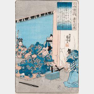 Utagawa Kuniyoshi (1797-1861), Woodblock Print