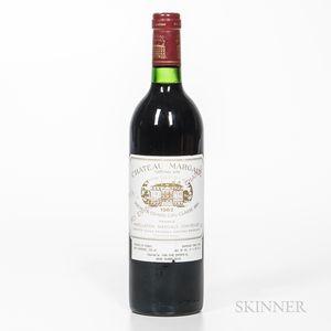 Chateau Margaux 1982, 1 bottle