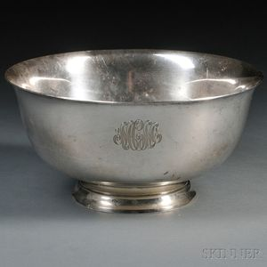 """Dominick & Haff """"Paul Revere Reproduction"""" Sterling Silver Bowl"""