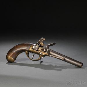 French Model 1777 Flintlock Pistol
