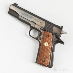 Colt Service Model Ace Semiautomatic Pistol
