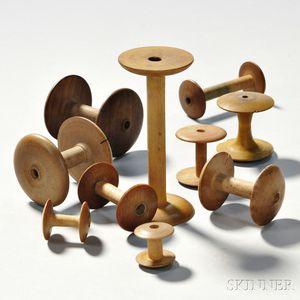 Ten Shaker Spools