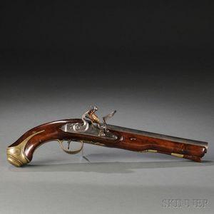 British Flintlock Holster Pistol