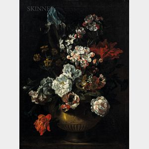 School of Jean-Baptiste Monnoyer (French, c. 1636-1699)      Flowers in a Vase