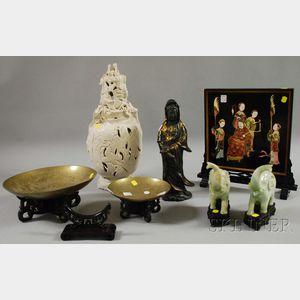 Seven Asian Decorative Articles
