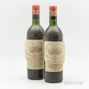 Chateau Margaux 1961, 2 bottles