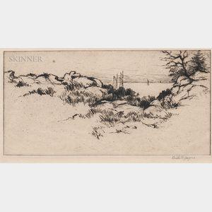 Bertha Evelyn Clausen Jaques (American, 1863-1941)      Coastal View