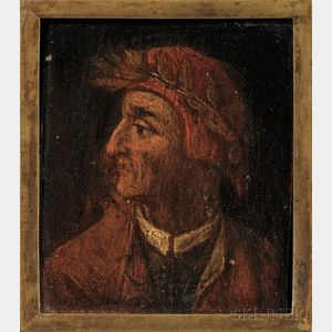 Italian School, 19th Century      Portrait of a Man in Profile