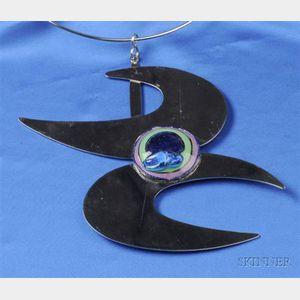 Artist Designed Pendant Necklace, Pierre Cardin