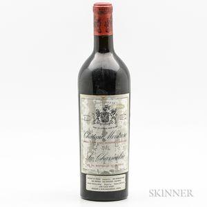 Chateau Montrose 1925, 1 bottle