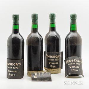 Fonseca Vintage Port 1970, 4 bottles