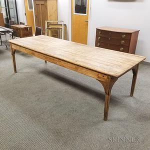 Large Pine Harvest Table