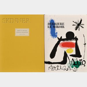 Joan Miró (Spanish, 1893-1983)      Ceramiques monumentales de Miró et Artigas