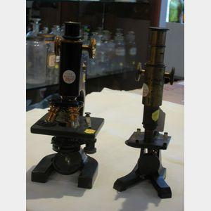 Two American Compound Microscopes