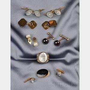 Group of Seven Gentleman's Items