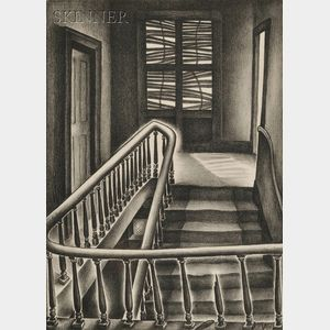 Vera Andrus (American, 1896-1979)      Memory Stairs