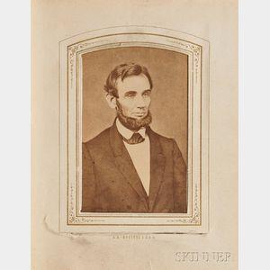 Album, Cartes de Visite (c. 1860):
