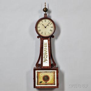 "H. Tifft Patent Timepiece or ""Banjo"" Clock"