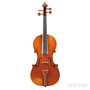 German Violin, Heinrich Th. Heberlein, Jr., Markneukirchen, 1938