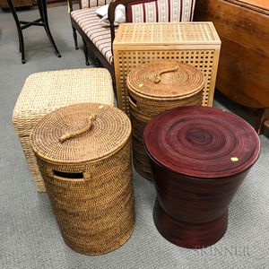Five Modern Baskets and Containers