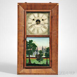 Silas B. Terry Bevel Case Shelf Clock
