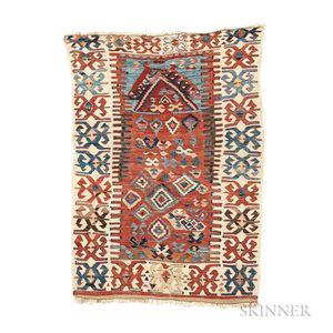Central Anatolian Prayer Kilim