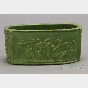 T.J. Wheatley Pottery Glazed Planter